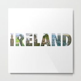 Views from Ireland Metal Print
