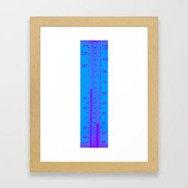 Eleven below zero Framed Art Print