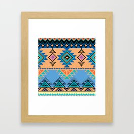 ETHNIC Framed Art Print