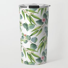 Bamboo and eucaliptus pattern Travel Mug