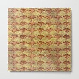 Sea shells pattern 1 Metal Print