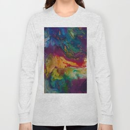 modern marble m Long Sleeve T-shirt