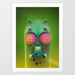 bug eys Art Print