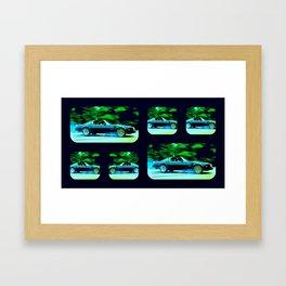 Bandit Rides Smokey 3 Framed Art Print
