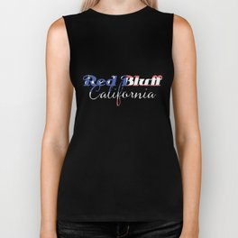 Red Bluff California Biker Tank