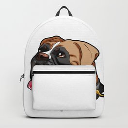 German Boxer Dog Doggie Puppy Backpack