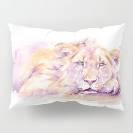 Lion _ Too hot to hunt Pillow Sham