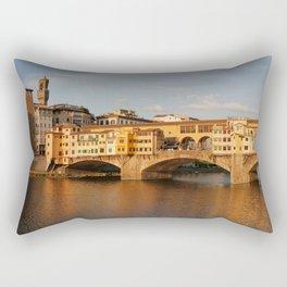 Ponte Vecchio Florence Rectangular Pillow