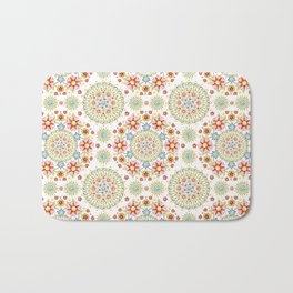 Flower Crown Carnival Bath Mat