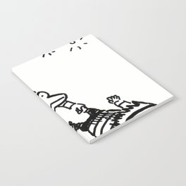 Circus Trapeze Apes Notebook
