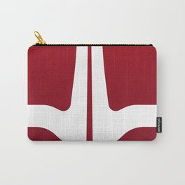 Striped Tomato Carry-All Pouch