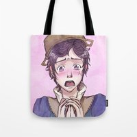 fire emblem awakening Tote Bags featuring Donnel - Fire Emblem Confession by Audienta