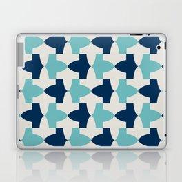 Alhambra Motif Blue Palette Laptop & iPad Skin