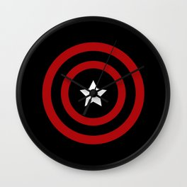 Captain Soldier Wall Clock