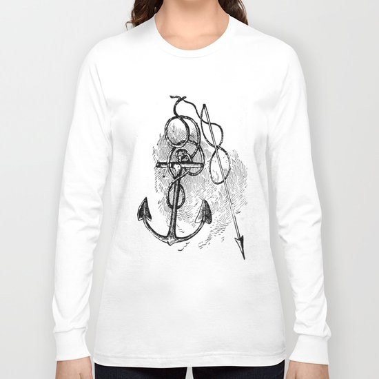 Anchor and harpoon. Long Sleeve T-shirt