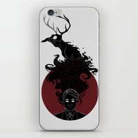 hannibal iPhone & iPod Skins featuring Hannibal by Sutexii