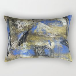 I See What You Can't (oil on canvas) Rectangular Pillow