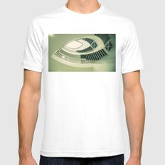 teardrop stairs Mens Fitted Tee MEDIUM White