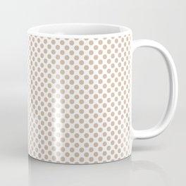 Toasted Almond Polka Dots Coffee Mug