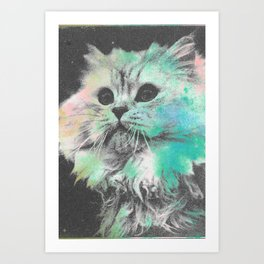 Here Kitty Kitty Art Print
