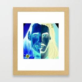 True Friends Framed Art Print