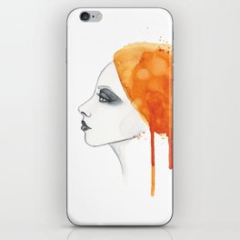 Sun girl iPhone Skin