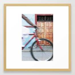 Rueda Framed Art Print