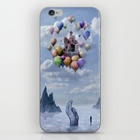 castle iPhone & iPod Skins featuring Sweet Castle by teddynash