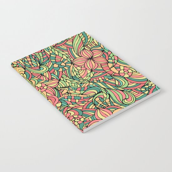 Floral delicate pattern Notebook