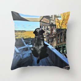 Dad's Memories Throw Pillow