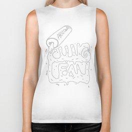 lean spill Biker Tank