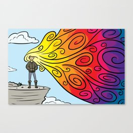 The Technicolor Phase Canvas Print