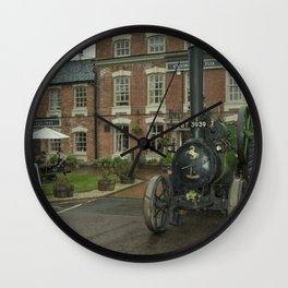 Pub Traction Wall Clock