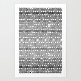 Cubicle Art Print