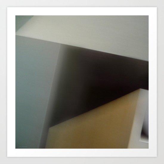 Space Geometry I Art Print