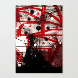 Three Months of Stress and Fear at Home in Los Angeles in 2014 Canvas Print