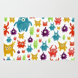 Cute little creatures Rug