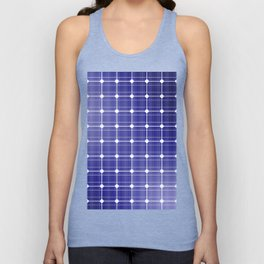 In charge / 3D render of solar panel texture Unisex Tank Top