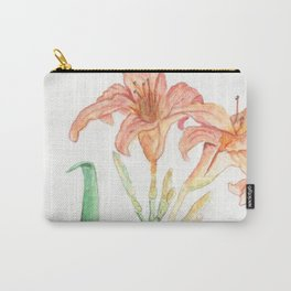 Hemerocallis (Day Lily) Carry-All Pouch