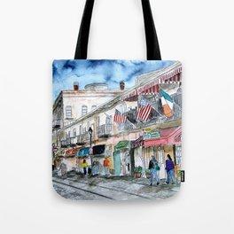 Savannah Georgia Tote Bag