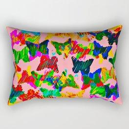 float like a butterfly 3 Rectangular Pillow