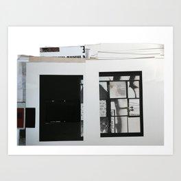 layout  Art Print