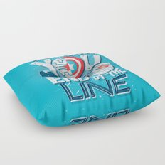 Till the end of the line Floor Pillow