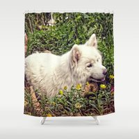 fairytale Shower Curtains featuring Fairytale by MG-Studio