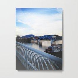 Rivers & Roads Metal Print