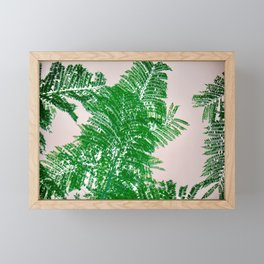 Fern Perspective Framed Mini Art Print