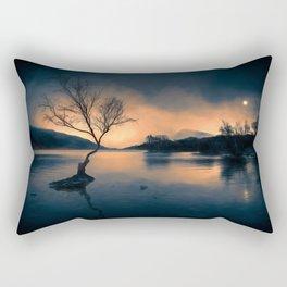 Lone Tree Snowdonia Rectangular Pillow