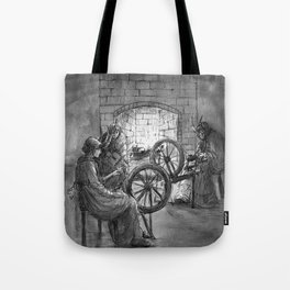 The Horned Women Tote Bag