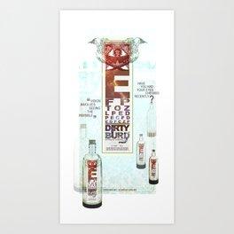 Dirty Burd Advertisement Art Print