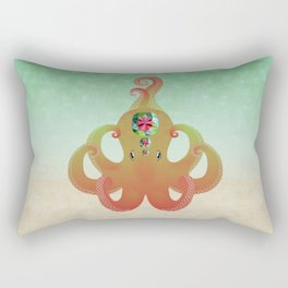 Octopus - Alexandrite (Chrysoberyl) Rectangular Pillow